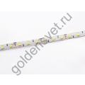 Светодиодная лента 12V 5050 60/м (14,4W/м)в силиконе Холодная