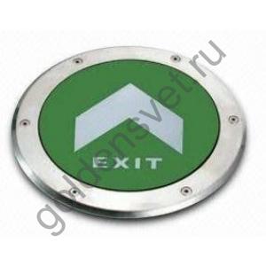 Аварийный светодиодный светильник для монтажа в пол PL BL 1.0