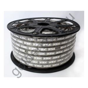 Светодиодная лента 5050 220V 60/м 14,4W/м RGB