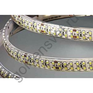 Светодиодная лента 24V 3528 240/м (19,2W/м) в силиконе Холодная