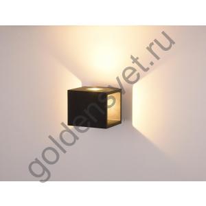 LED светильник настенный LWA0100A-BL-WW Черный 10Вт 3000