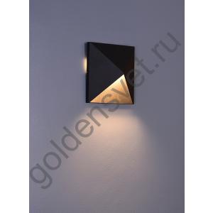 LED светильник настенный LWA0039A-BL-WW Черный 9Вт 3000