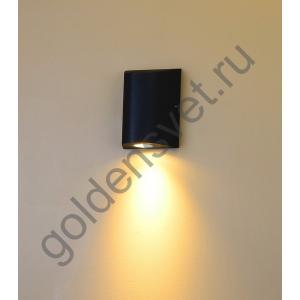 LED светильник настенный LWA0148A-BL-WW Черный 12Вт 3000