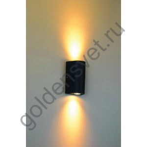 LED светильник настенный LWA0148B-BL-WW Черный 24Вт 3000
