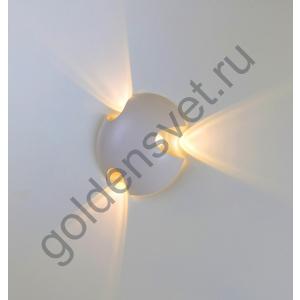 LED светильник настенный LWA0121C-WH-WW Белый 3*3Вт 3000