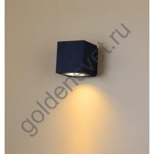 LED светильник настенный LWA0150A-BL-WW Черный 12Вт 3000