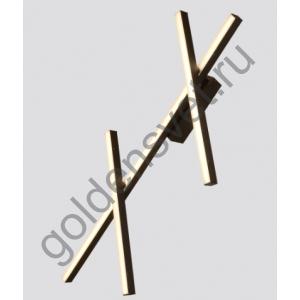 LED светильник настенный C00120100A-BL-WW Черный 40Вт 3000