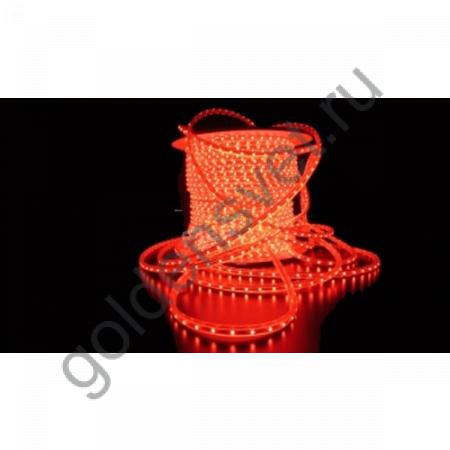 Светодиодная лента 3528 220V 60/м 4,8W/м Красная