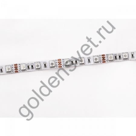Светодиодная лента 12V 5050 60/м (14,4W/м) IP 20 RGB