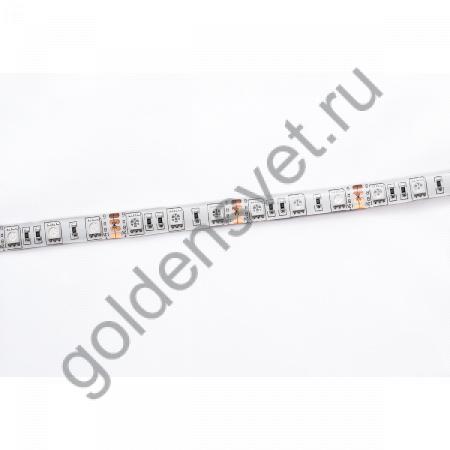 Светодиодная лента 12V 5050 60/м (14,4W/м) в силиконе RGB