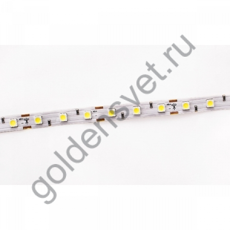 Светодиодная лента 12V 5050 60/м (14,4W/м) IP 20 Тёплая