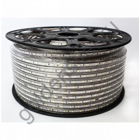 Светодиодная лента 5050 220V 60/м 14,4W/м Тёплая