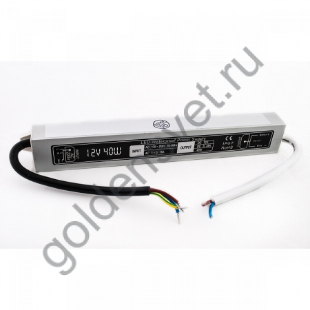 Блок питания LP -40Вт IP67 12В