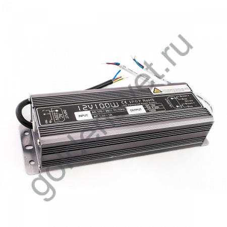 Блок питания LP -100Вт IP67 12В